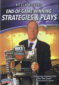 End Of Game Winning Strategies & Plays by Kevin Boyle Instructional Basketball Coaching Video