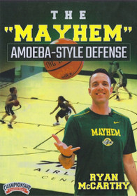 The Mayhem Amoeba Style Defense by Ryan McCarthy Instructional Basketball Coaching Video
