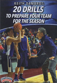20 Drills To Prepare Your Team For The Season by Keith Dambrot Instructional Basketball Coaching Video