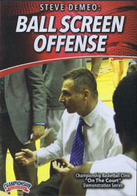 Ball Screen Offense by Steve Demeo Instructional Basketball Coaching Video