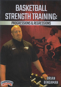 Basketball Strength Training: Progressions & Regressions by Brian Bingaman Instructional Basketball Coaching Video