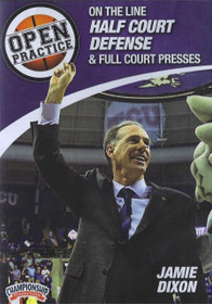 On The Line Half Court Defense & Full Court Presses by Jamie Dixon Instructional Basketball Coaching Video