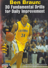 30  Fundamental Drills For Daily Improvement by Ben Braun Instructional Basketball Coaching Video