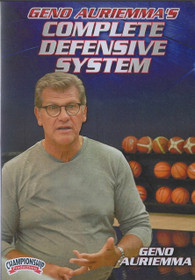 Geno Auriemma's Complete Defensive System by Geno Auriemma Instructional Basketball Coaching Video