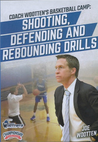 Wooten Basketball Camp: Shooting, Defending, & Rebounding Drills by Joe Wootten Instructional Basketball Coaching Video