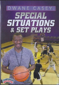 Dwayne Casey's Special Situations & Set Plays by Dwane Casey Instructional Basketball Coaching Video