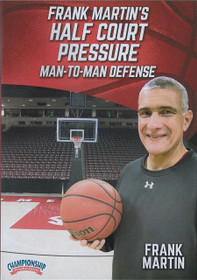 Frank Martin's Half Court Pressure Man To Man Defense by Frank Martin Instructional Basketball Coaching Video