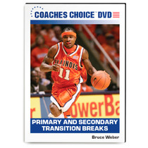 Primary & Secondary Transition Breaks by Bruce Weber Instructional Basketball Coaching Video