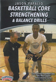 Basketball Core Strengthening & Balance Drills by Jason Papalio Instructional Basketball Coaching Video