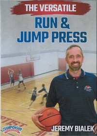 Run & Jump Press by Jeremy Bialek Instructional Basketball Coaching Video