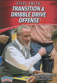 Transition & Dribble Drive Offense by Stephen Smith Instructional Basketball Coaching Video