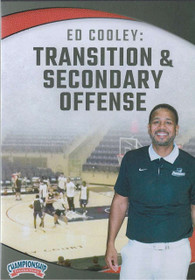 Transition & Secondary Offense by Ed Cooley Instructional Basketball Coaching Video