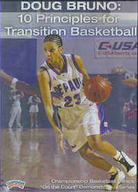 10 Principles for Transition Basketball by Doug Bruno Instructional Basketball Coaching Video