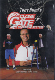 Tony Huml's Close the Gate Man to Man Defensive System by Tony Huml Instructional Basketball Coaching Video