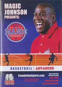 Magic Johnson Fundamentals Advanced by Magic Johnson Instructional Basketball Coaching Video