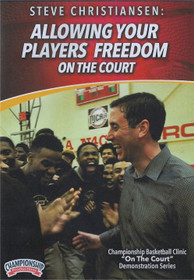 Allowing Your Players Freedom on the Court by Steve Christiansen Instructional Basketball Coaching Video