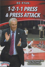 Bo Ryan's 1-2-1-1 Press & Press Attack by Bo Ryan Instructional Basketball Coaching Video
