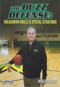 Buzz Defense Breakdown Drills & Special Situations by Mike Divilbiss Instructional Basketball Coaching Video
