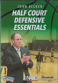 Half Court Defensive Essentials by John Becker Instructional Basketball Coaching Video