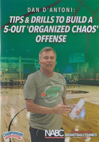 Tips & Drills to Build a 5 Out Organized Chaos Offense by Dan D'Antoni Instructional Basketball Coaching Video