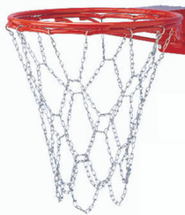 Steel Chain Basketball Net for Bumped Ring Goals