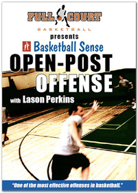 basketball open post motion offense