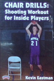 Chair Drills: Shooting Workout For Inside Players by Kevin Eastman Instructional Basketball Coaching Video