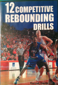 12 Competitive Rebounding Drills by Kermit Davis Instructional Basketball Coaching Video