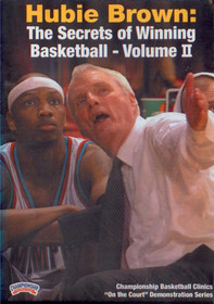 The Secrets Of Winning Basketball Vol. 2 by Hubie Brown Instructional Basketball Coaching Video