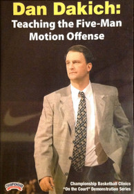 Teaching The Five--man Motion Offense by Dan Dakich Instructional Basketball Coaching Video