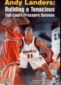 Building A Tenacious Full Court Pressure D by Andy Landers Instructional Basketball Coaching Video