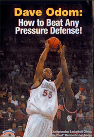 Dave Odom: How To Beat Any Pressure Defense by Dave Odom Instructional Basketball Coaching Video