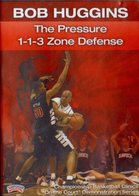 Pressure 1-1-3 Zone Defense by Bob Huggins Instructional Basketball Coaching Video