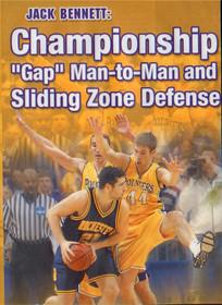 Championship Gap Man & Sliding Zone by Jack Bennett Instructional Basketball Coaching Video