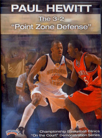 The 3--2 Point Zone Defense by Paul Hewitt Instructional Basketball Coaching Video
