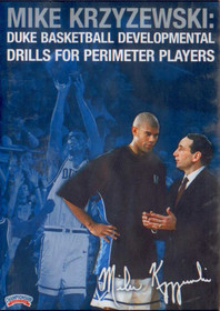 Coach K: Perimeter Players by Mike Krzyzewski Instructional Basketball Coaching Video