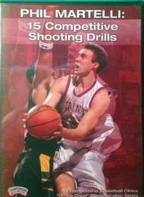 15 Competitive Shooting Drills by Phil Martelli Instructional Basketball Coaching Video