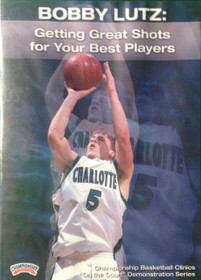Getting Great Shots For Your Best Players by Bobby Lutz Instructional Basketball Coaching Video