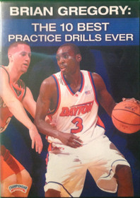 The 10 Best Practice Drills Ever by Brian Gregory Instructional Basketball Coaching Video