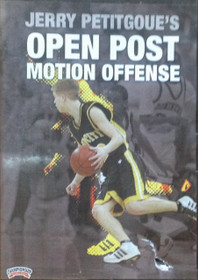 Open Post Motion Offense Petitgoue by Jerry Petitgoue Instructional Basketball Coaching Video