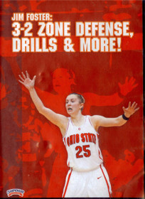 3-2 Zone Defense, Drills & More by Jim Foster Instructional Basketball Coaching Video
