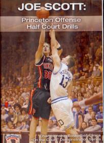 Princeton Offense Half Court by Joe Scott Instructional Basketball Coaching Video