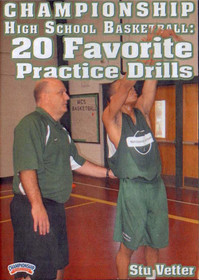 Stu Vetter: Favorite Drills by Stu Vetter Instructional Basketball Coaching Video