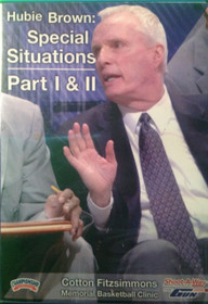 Special Situations, Part I &ii by Hubie Brown Instructional Basketball Coaching Video
