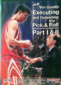 Executing & Defending The Pick & Roll by Jeff VanGundy Instructional Basketball Coaching Video