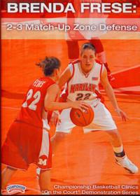 2 3 Match--up Zone Defense by Brenda Frese Instructional Basketball Coaching Video