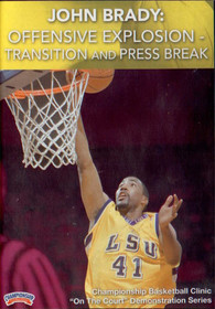 Offensive Explosion--transition And by John Brady Instructional Basketball Coaching Video