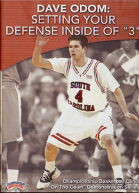 "Setting Your Defense Inside Of ""3"" by Dave Odom Instructional Basketball Coaching Video"