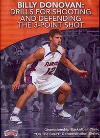 Drills For Shooting & Defending The 3 Point Shot by Billy Donovan Instructional Basketball Coaching Video