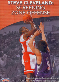 Screening Zone Offense by Steve Cleveland Instructional Basketball Coaching Video